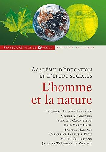 L'homme et la nature (French Edition): COLLECTIF