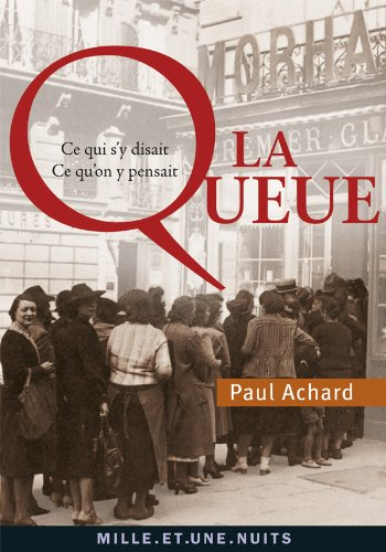 QUEUE (LA): ACHARD PAUL