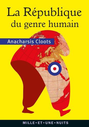 9782755507164: La République du genre humain
