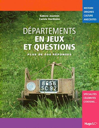 Departements en Jeux et questions by Hardouin: Hardouin Carole