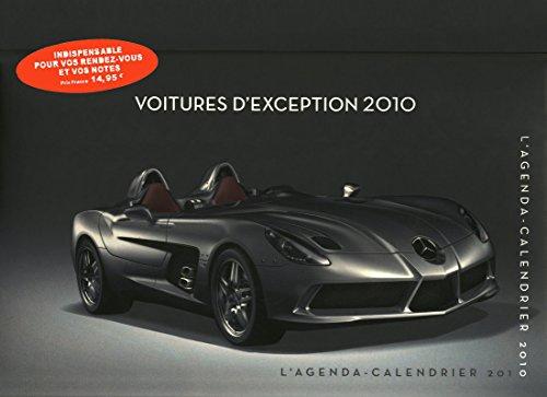 9782755603774: Agenda Calendrier Voitures d'Exception 2010