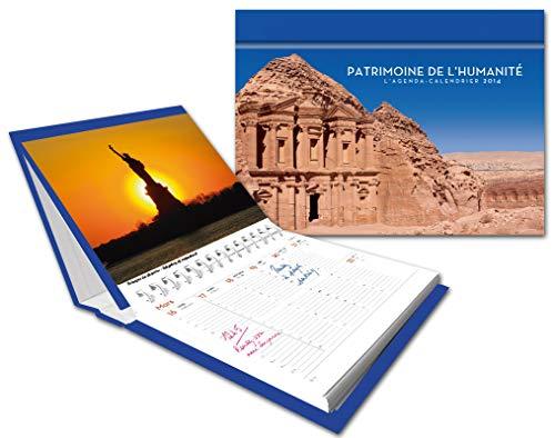 9782755612158: L'agenda-calendrier Patrimoine de l'humanité 2014