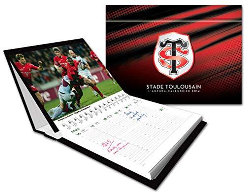 9782755612165: L'agenda-Calendrier Stade Toulousain 2014