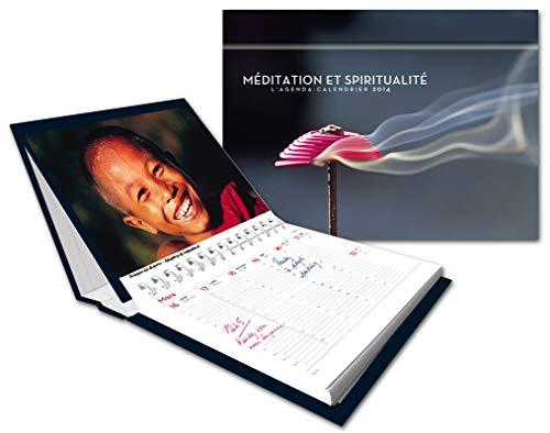 9782755612356: Agenda-calendrier Méditation et spiritualité 2014