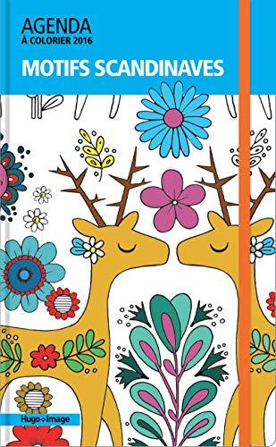 Motifs scandinaves, agenda à colorier 2016: Angela Porter; Angelea