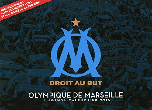 9782755619089: Olympique de Marseille : L'agenda-calendrier 2016