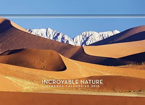 9782755619386: L'agenda-Calendrier Incroyable Nature 2016