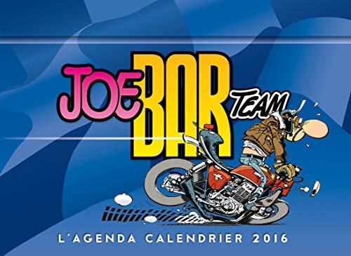 9782755619478: L'agenda-Calendrier 2016 Joe Bar Team
