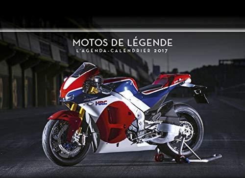 9782755624403: Motos de légende : L'agenda-calendrier