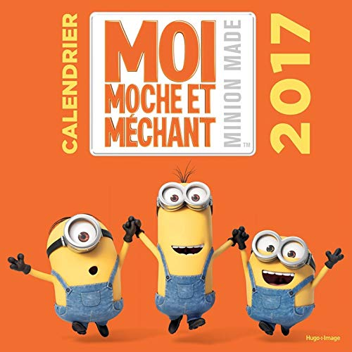 9782755624649: Calendrier mural Les Minions 2017