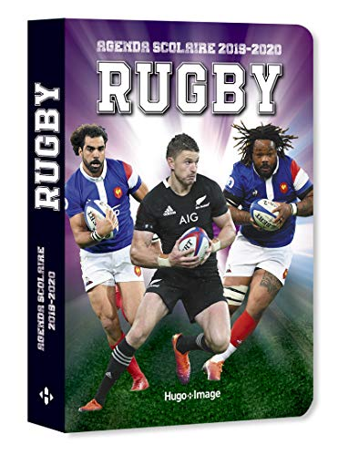 9782755641332: Agenda scolaire 2019-2020 Rugby