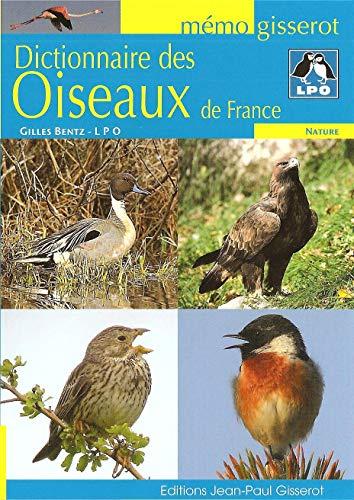 9782755800586: Dictionnaire des oiseaux de France (M�mo Gisserot)