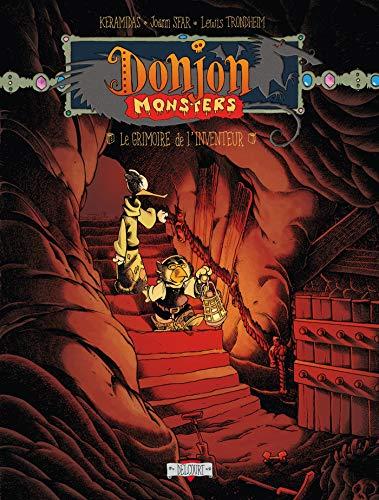 Donjon Monsters, Tome 12 : Le grimoire de l'inventeur : Donjon Niveau 5 (9782756007762) by JOANN SFAR, LEWIS TRONDHEIM NICOLAS KERAMIDAS