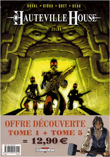 9782756016054: Hauteville House : Pack en 2 volumes : Tome 1, Zelda ; Tome 5, USS Kearsarge