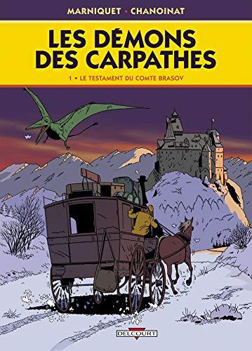 9782756018003: Les démons des Carpathes, Tome 1 : Testament Brasov