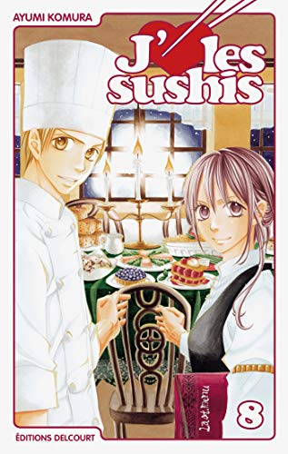 9782756025735: J'aime les sushis Vol.8