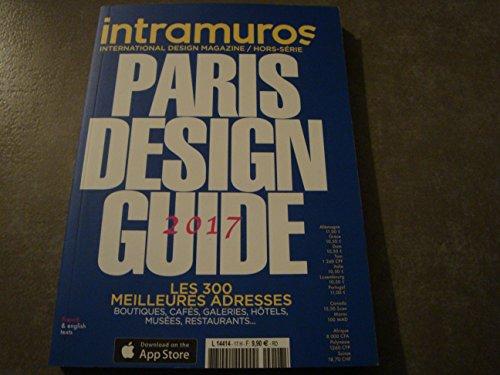 "INTRAMUROS MAG HORS-SÉRIE N°17 !! ""PARIS DESIGN: Divers"