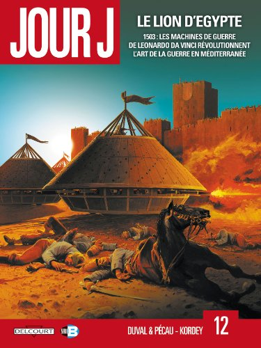 9782756035482: Jour J, Tome 12 : Le lion d'Egypte