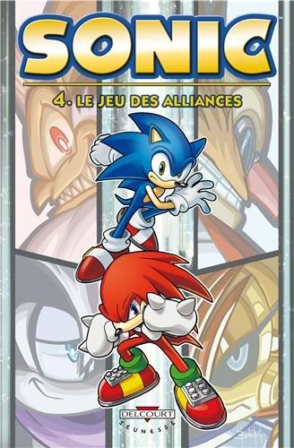 9782756039237: Sonic T4 - Le Jeu des alliances (DELC.JEUNESSE)
