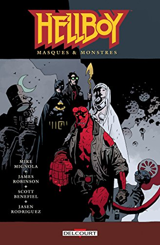 9782756039589: Hellboy T14 - Masques & Monstres