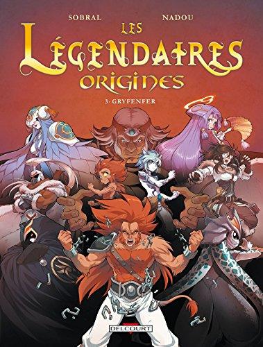 9782756041278: Les légendaires origines 3 Gryfender