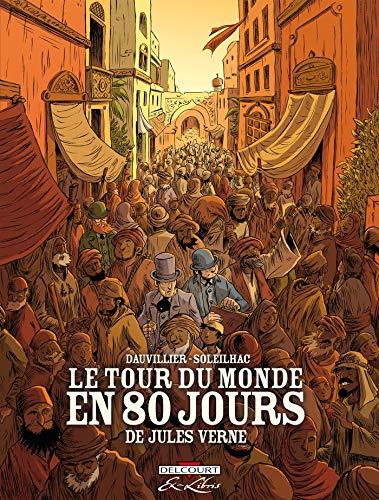 9782756047782: Le Tour du monde en 80 jours de Jules Vern - Intégrale