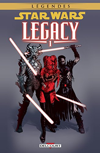 9782756070308: Star Wars - Legacy T01 NED