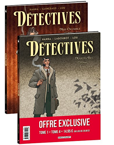 9782756074207: D�tectives - Pack promo T4+T1 (1 tome offert)
