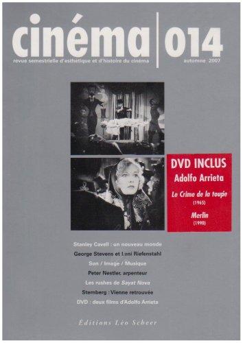 Cinéma, N° 014, automne 2007 (French Edition): Bernard Eisenschitz