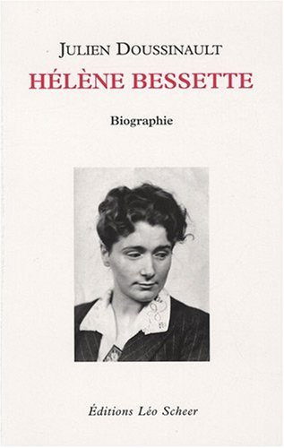 9782756101170: Hélène Bessette (French Edition)