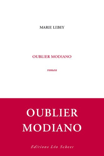 9782756103174: Oublier Modiano