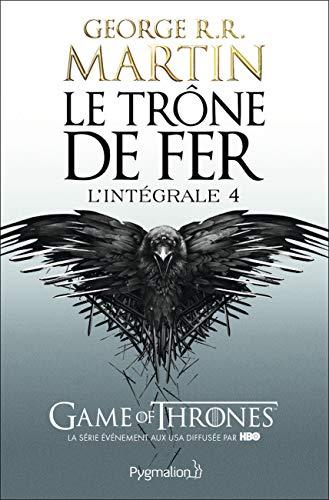 9782756408415: Le Trône de fer - l'Intégrale 4 (A game of Thrones), Tomes 10 à 12