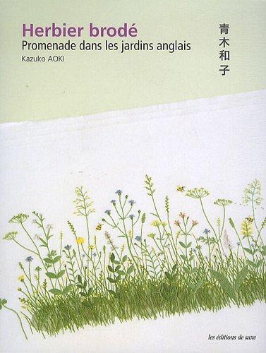 9782756506432: Herbier brodé : Promenade dans les jardins anglais