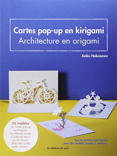 9782756510231: Carte pop-up en kirigami : Architecture en origami