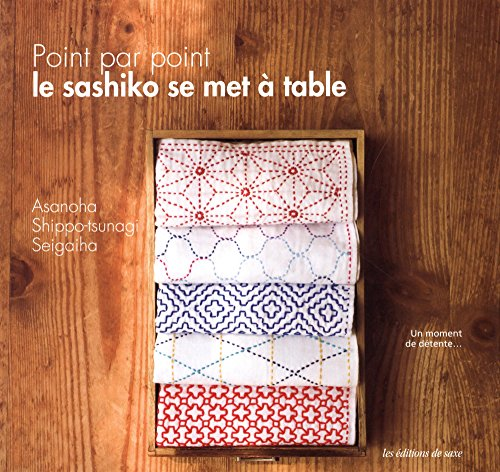 9782756523798: Point par point, le sashiko se met à table