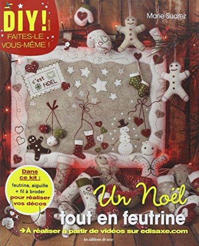 9782756524160: Un Noël tout en feutrine : Avec feutrine, aiguille et fil à broder (DIY !)
