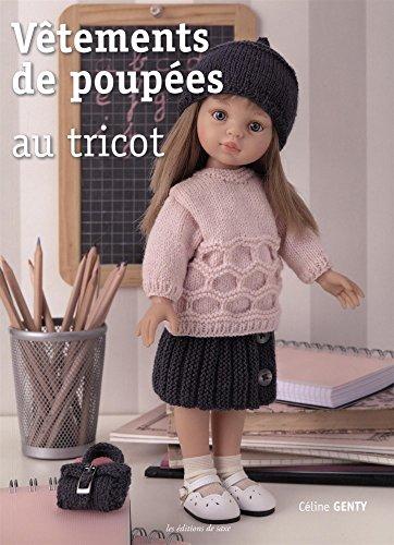 9782756525563: Vêtements de poupées au tricot