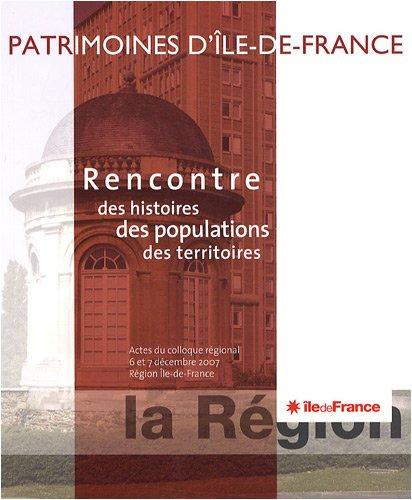 Rencontre des histoires des populations des territoires (French Edition): Patrick Aracil