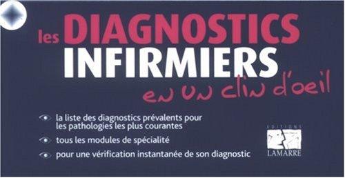 9782757300824: les diagnostics infirmiers en un clin d'oeil