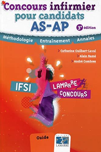 9782757307557: Concours infirmier pour candidats AS/AP