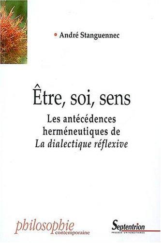 etre soi sens: Andr� Stanguennec