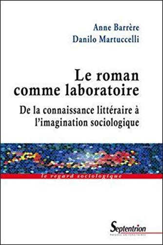 """""""le roman comme laboratoire ; de la connaissance littéraire à l'imagination..."""