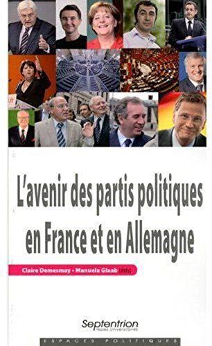 L'avenir des partis politiques en France et en Allemagne: Claire Demesmay, Manuela Glaab