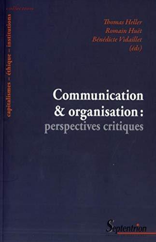 9782757404300: Communicationetorganisation:perspectivescritiques