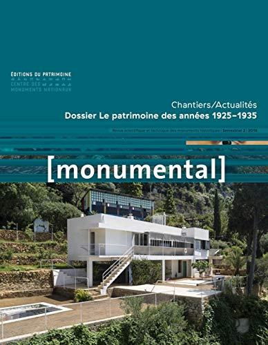 9782757706480: Monumental 2018-2 Le patrimoine des années 1925-1935