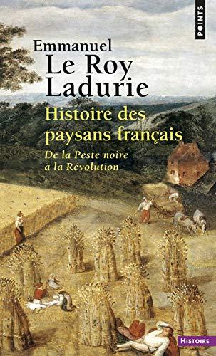 9782757801116: Histoire Des Paysans Franais. de La Peste Noire La R'Volution (French Edition)