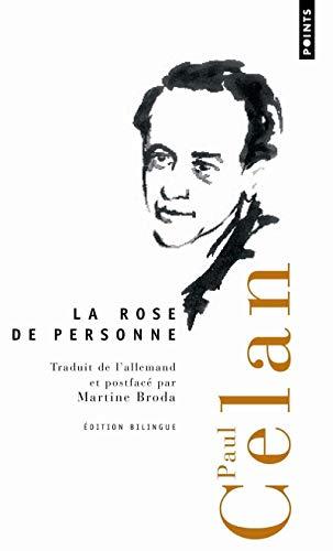 Rose de personne (La): Celan, Paul