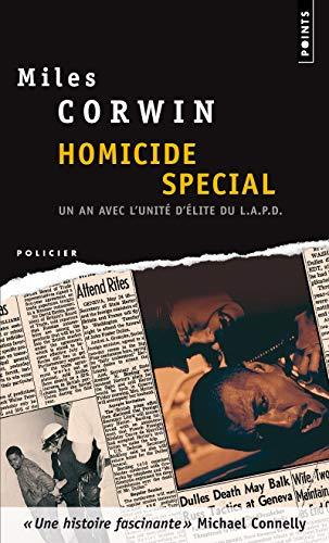 9782757809525: Homicide Sp'cial. Un an Avec L'Unit' D''Lite D'Investigation de La Police de Los Angeles (English and French Edition)