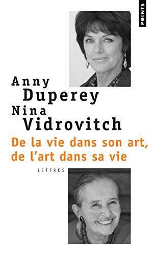 9782757815113: de La Vie Dans Son Art, de L'Art Dans Sa Vie (English and French Edition)