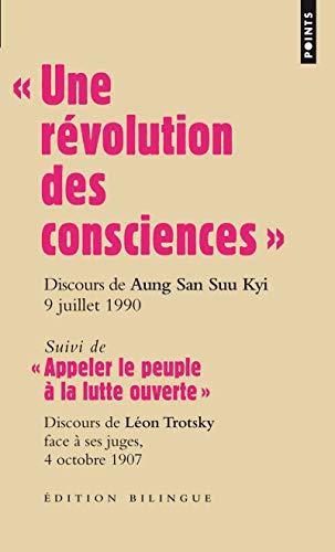 9782757818176: Une R'Volution Des Consciences . Discours D'Aung San Suu Kyi, 9 Juillet 1990 - Suivi de